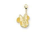 Disney Minnie Lobster Clasp Charm style: WD137GP
