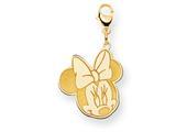Disney Minnie Lobster Clasp Charm style: WD137Y