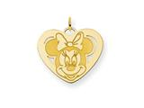 Disney Minnie Heart Charm style: WD140GP