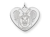 Disney Minnie Heart Charm style: WD140W