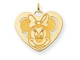 Disney Minnie Heart Charm style: WD140Y