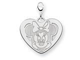 Disney Minnie Heart Lobster Clasp Charm style: WD141W