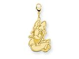 Disney Daisy Duck Lobster Clasp Charm style: WD143GP