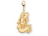 Disney Daisy Duck Lobster Clasp Charm style: WD143Y
