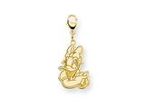 Disney Daisy Duck Lobster Clasp Charm style: WD145GP