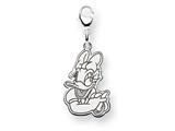 Disney Daisy Duck Lobster Clasp Charm style: WD145W
