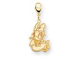Disney Daisy Duck Lobster Clasp Charm style: WD145Y