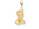 Disney Donald Duck Lobster Clasp Charm style: WD146Y