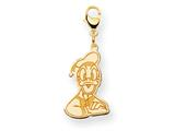 Disney Donald Duck Lobster Clasp Charm style: WD148Y