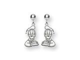 Disney Donald Duck Dangle Post Earrings style: WD151SS