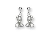 Disney Donald Duck Dangle Post Earrings style: WD151W