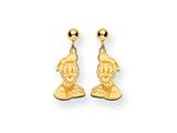 Disney Donald Duck Dangle Post Earrings