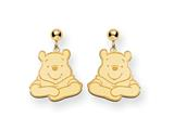 Disney Winnie the Pooh Dangle Post Earrings style: WD158GP