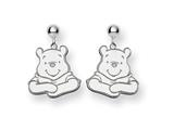 Disney Winnie the Pooh Dangle Post Earrings style: WD158W