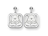 Disney Winnie the Pooh Dangle Post Earrin style: WD160SS