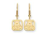 Disney Winnie the Pooh Dangle Wire Earrings style: WD161GP