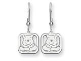Disney Winnie the Pooh Dangle Wire Earrin style: WD161SS