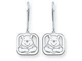 Disney Winnie the Pooh Dangle Wire Earrings style: WD161W