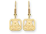 Disney Winnie the Pooh Dangle Wire Earrings style: WD161Y