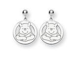 Disney Winnie the Pooh Dangle Post Earrin style: WD162SS