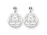 Disney Winnie the Pooh Dangle Post Earrings style: WD162W