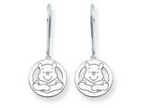 Disney Winnie the Pooh Dangle Wire Earrings style: WD163W
