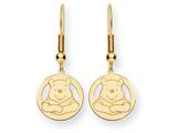 Disney Winnie the Pooh Dangle Wire Earrings style: WD163Y