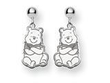 Disney Winnie the Pooh Dangle Post Earrin style: WD164SS
