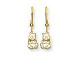 Disney Winnie the Pooh Dangle Wire Earrings style: WD165GP