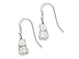 Disney Winnie the Pooh Dangle Wire Earrings style: WD165SS