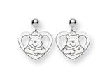 Disney Winnie the Pooh Heart Dangle Post style: WD166SS