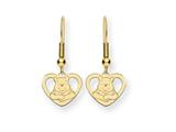 Disney Winnie the Pooh Heart Dangle Wire E style: WD167GP