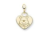 Disney Winnie the Pooh Heart Lobster Clasp style: WD168GP