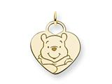 Disney Winnie the Pooh Heart Charm style: WD169GP