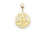 Disney Winnie the Pooh Lobster Clasp Charm style: WD170GP