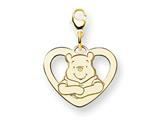 Disney Winnie the Pooh Heart Lobster Clasp style: WD172GP