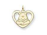Disney Winnie the Pooh Heart Charm style: WD173GP
