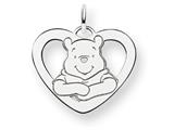 Disney Winnie the Pooh Heart Charm style: WD173SS