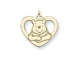 Disney Winnie the Pooh Heart Charm style: WD175GP