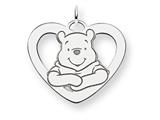 Disney Winnie the Pooh Heart Charm style: WD175SS