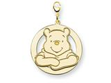 Disney Winnie the Pooh Lobster Clasp Charm style: WD176GP