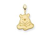 Disney Winnie the Pooh Lobster Clasp Charm style: WD178GP