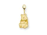 Disney Winnie the Pooh Lobster Clasp Charm style: WD181GP