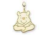 Disney Winnie the Pooh Lobster Clasp Charm style: WD183GP