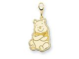 Disney Winnie the Pooh Lobster Clasp Charm style: WD187GP