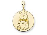 Disney Winnie the Pooh Lobster Clasp Charm style: WD193GP