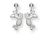Disney Piglet Dangle Post Earrings style: WD194W