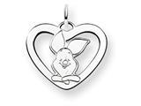 Disney Piglet Heart Charm style: WD196W