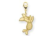 Disney Piglet Lobster Clasp Charm style: WD199GP