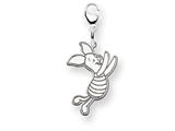 Disney Piglet Lobster Clasp Charm style: WD199W